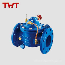 Hydraulic flange diaphgram water meter check valve horizontal / electric actuator non return valve