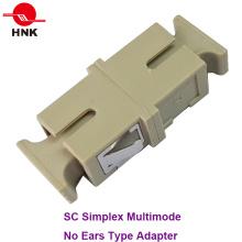 Sc Simplex Adaptateur multimédia à fibre optique sans oreille