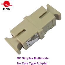 Sc Simplex Multimode Fiber Optic Adapter Without Ear