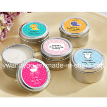Scented Soy Wax Decorative Gift Candle in Tin