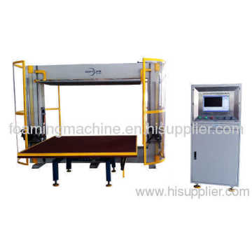 Drehbarer Tisch Computerized Contour Cutting Machine