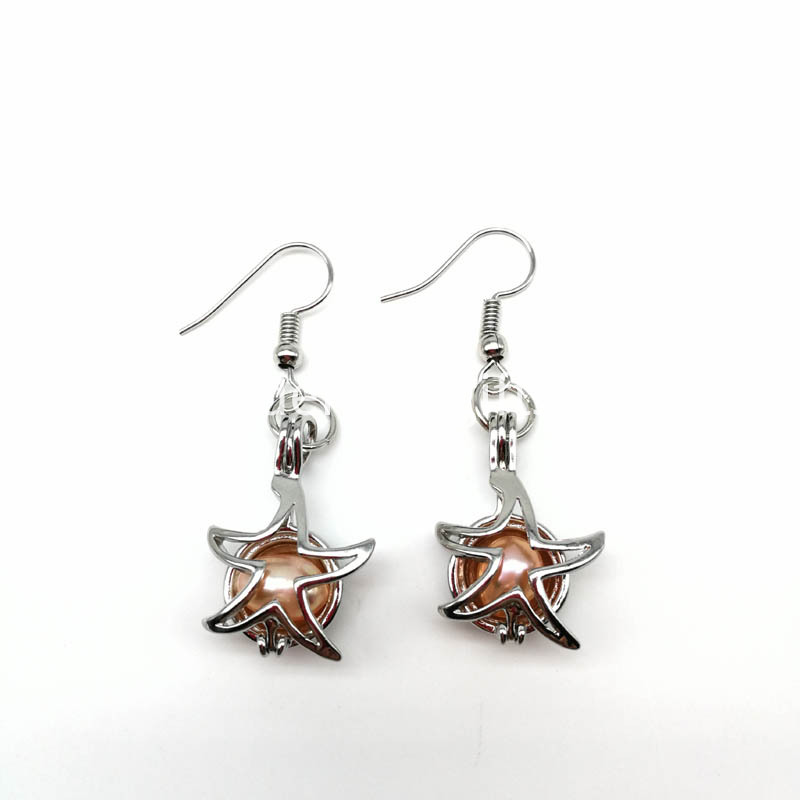 Starfish Pendant Earrings