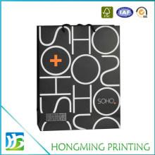 Custom Printed Paper Bag with Rope Handle