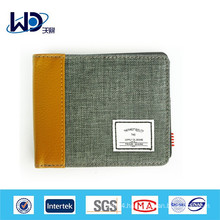 Very cheap Small square fabric wallet