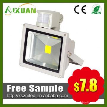 most popular and high quality 30w led pir sensor floodlight