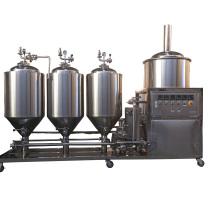 50L 100l pilot beer brewing equipment brew house