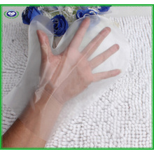 PE Plastic Disposaple Thichen Mitten Gloves