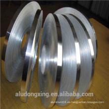 Hoja de aluminio para el devanado 8011 del transformador Pago Asia Alibaba China