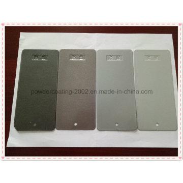 Revestimiento epoxi en polvo de plata con propiedades anti-corrosivas
