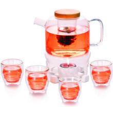 Prime chá de chá de vidro de vidro de qualidade com filtro