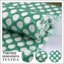 Custom design Wholesale soft clothing jacquard fabric price per meter