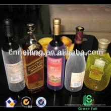 Supermercado de proteção de garrafas