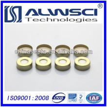 20mm Goldene Aluminiumkappe Crimpkappe für gc