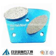 Эллипс форму сегмента алмазные шлифовальные пластины трапециевидные пластины