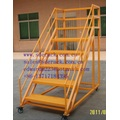 Warehouse Racking for Ladder Movable