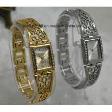 Custom Ladies Antique Bracelet Relógio De Pulso Relógios De Quartzo De Latão