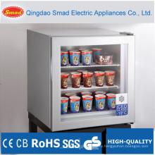 SD55 мини-Дисплей кулер стеклянная дверь, счетчик топ холодильник