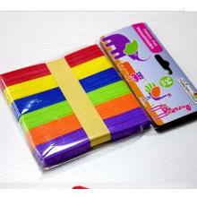 flat Colour Wooden craft match sticks