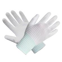 Gant en tricot en polyester Gants blancs Palm Fit White Gants en cuir de sécurité