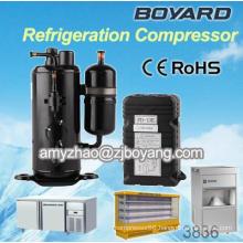 Frozen food equipment with vertical 5000btu sanden pxe16 ac compressor for skoda octavia for refrigerators&freezers exch