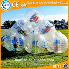 TPU bumper ball buy/bubble football equipment/inflatable bubble football