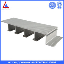 Extruded 6063 Aluminum Extrusion with ISO RoHS
