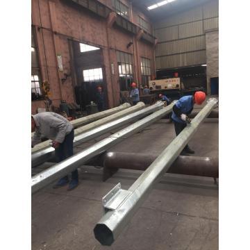 Galvanized Steel CCTV Pole