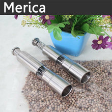 Stainless Steel Manual Pepper Grinder with Spring