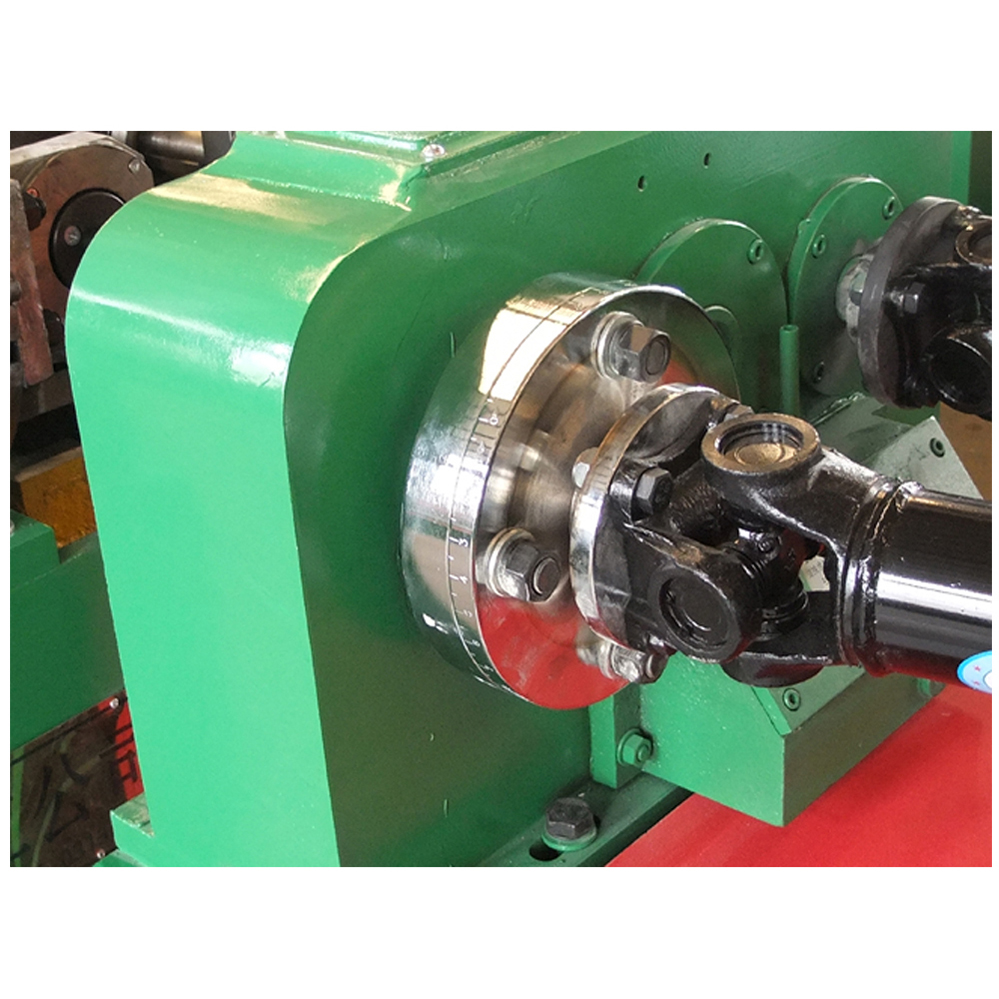 Radial spline milling thread rolling machine
