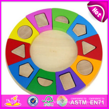 2014 New Wooden Block Puzzle Toys, High Quality Wooden Block Puzzle Toys, Hot Sale Wooden Block Puzzle Toys W13A047
