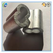 Us Type Hourglass Aluminium Wire Rope Sleeves