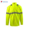 Camisas avanzadas de seguridad verde al por mayor