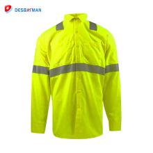Advanced green safety shirts wholesale