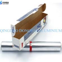 Calor de resistencia Hoja de aluminio de grado alimentario Pequeño rollo