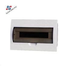 TSM 18 Pole/18 Ways Flush Mounted Plastic MCB Distribution Box