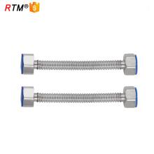 Tuyau flexible ondulé en métal B17 pour le tuyau flexible de gaz de robinet de salle de bains