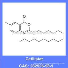 Haute pureté 99% min Cetilistat API / Slimming & Weight-Loss Drug 282526-98-1 (Fabriqué à Guangzhou)