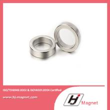 N52 forte ímã permanente de NdFeB anel com alta qualidade