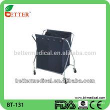 Trolley de lavanderia para hotel e hospital linan
