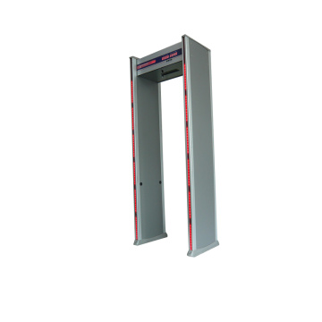 puerta de detector de metales walkthrough en alarma