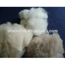 high quality 100% pure dehaired Chinese cashmere fibre factory