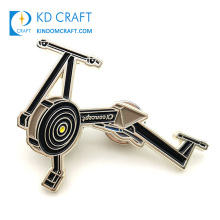 High quality custom metal soft enamel cool hollow out Indoor-cycling cyclist pin badge sports bike biking bicycle lapel pin