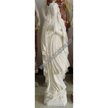 Stone Sculpture Marble Carving Religious Mary Statue for Religion (SY-X1404)