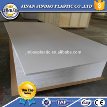 material de construcción lámina de PVC flexible de plástico