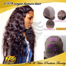 Brazilian Hair Lace Front Perücke lange wellige Lace Front Perücken für sexy Frauen