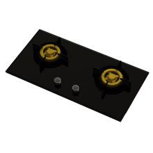 Верховный Уникальные две латунные газовые плиты (8 мм стекла)