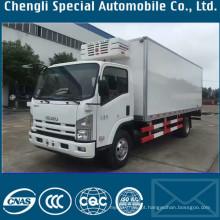 700p Isuzu 8tons frio armazenamento refrigerado caminhão