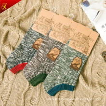 Fashion Custom Design Hemp Cotton Men Ankle Socks