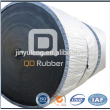 Banda transportadora de goma para la industria resistente