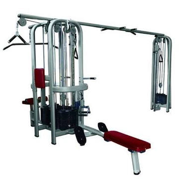 Multi Jungle 5 Station Commercial Gym Equipment
